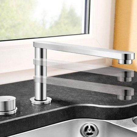 BLANCO Blancoeloscope-F II Immersible Kitchen Sink Mixer Tap, ideal ...