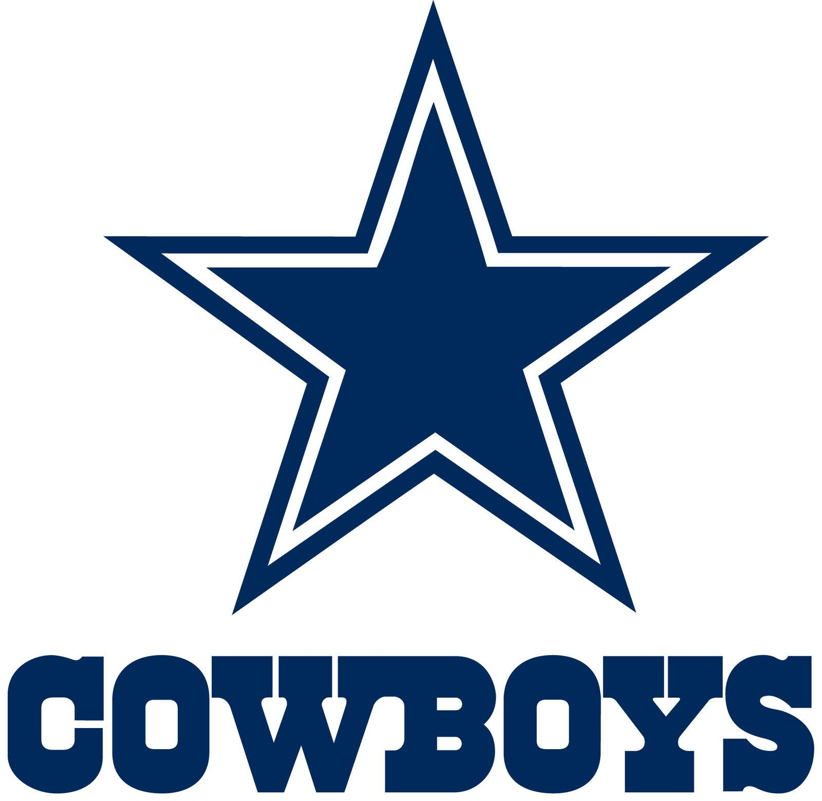 DALLAS COWBOYS Logo * Window Wall DECAL * Vinyl Car STICKER ~ ANY ...