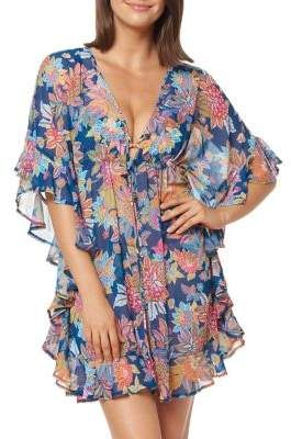 4c6eaec357 Bleu Rod Beattie Floral Ruffle Swimsuit coverful in 2019 | Products ...