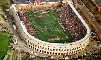 College Football A Look At Ivy League Football Stadiums Football Stadiums Stadium Harvard Football