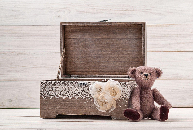Baby memory box time capsule box new baby keepsake box