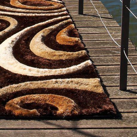 Alfombra moderna tsunami 3d tapices alfombras moderno y alfombras modernas - Carving alfombras ...