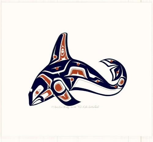 Northwestern Native American P Mc N Tribal Orca Tatoo Native Art Haida Art Native American Art
