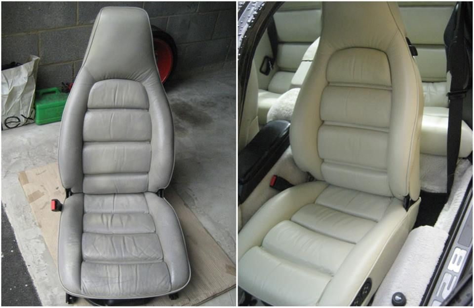 restore leather seats