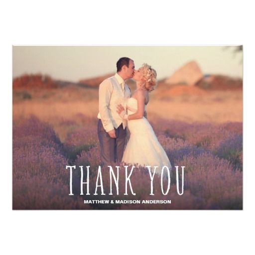 Cute Thank You White Overlay Card