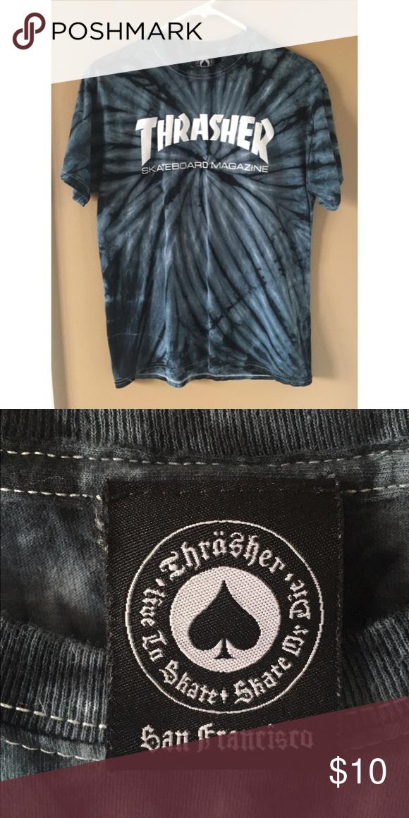 4f2b30b59 Thrasher tee Thrasher skateboarding tie dye tee. Purchased this shirt as  is! *did not tie dye myself* Never been worn! Thrasher Tops Tees - Short  Sleeve