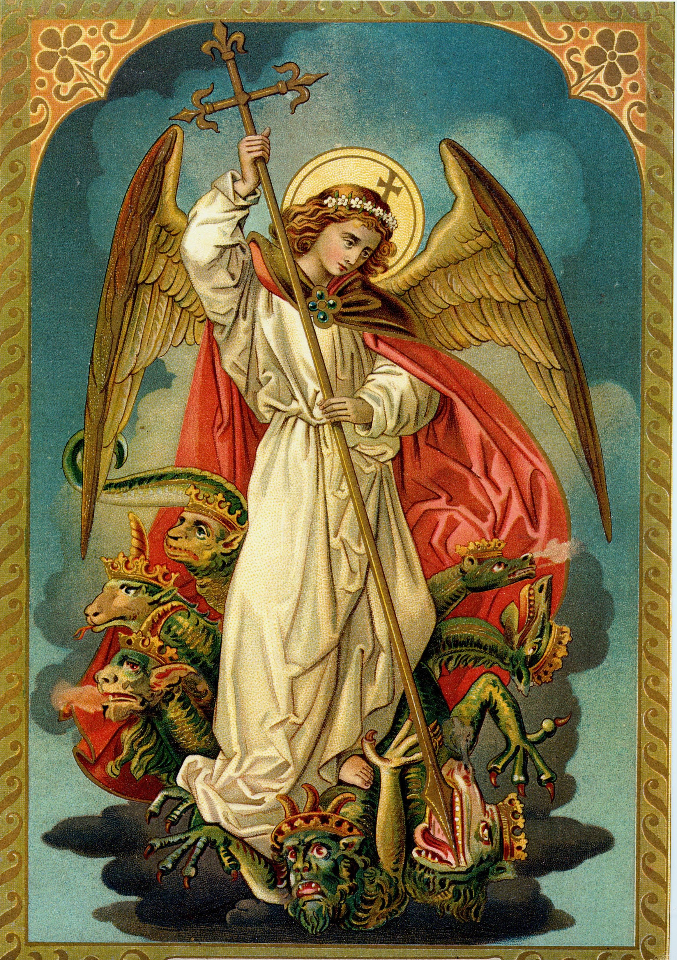 Archangels names and meanings catholic - Tea At Trianon Pope Leo Xiii And The St Michael Prayer