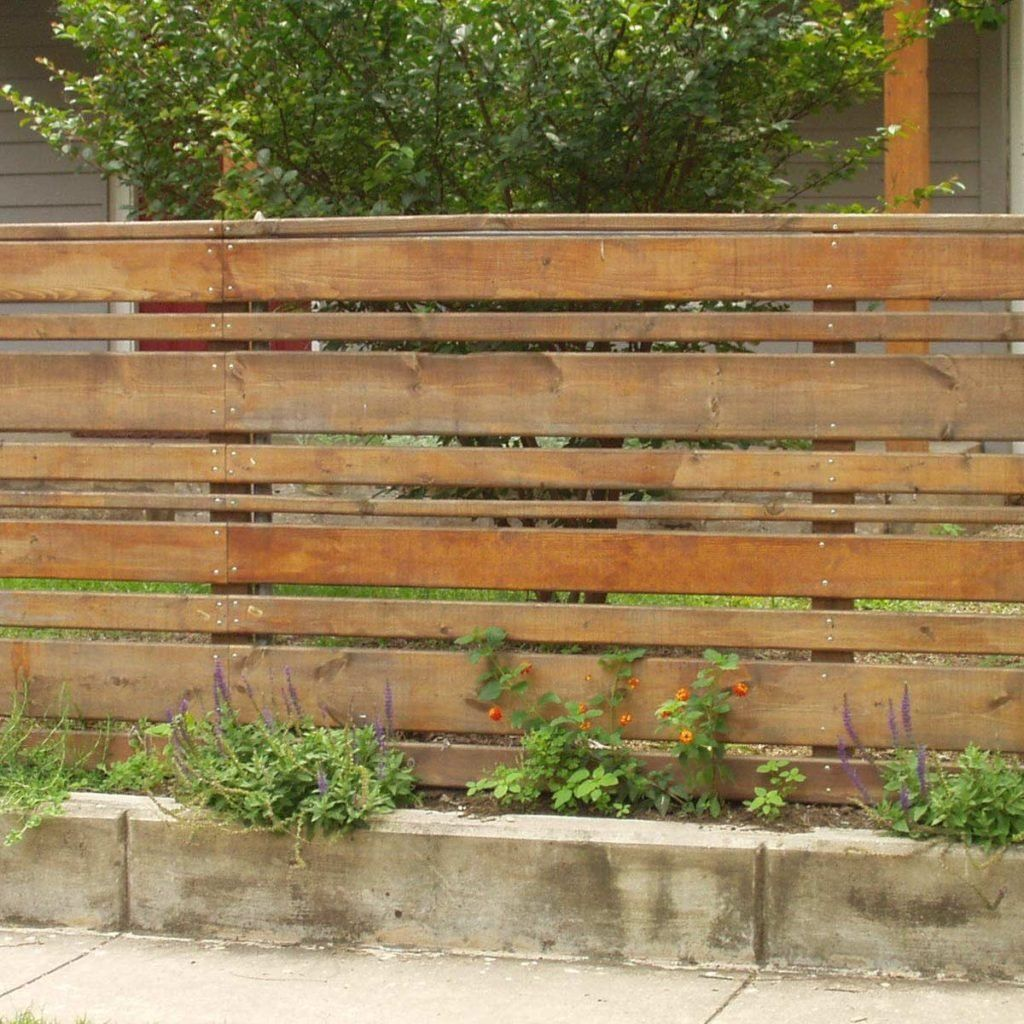 10 Modern Yard Fencing Ideas in 2020 | Backyard fences ...