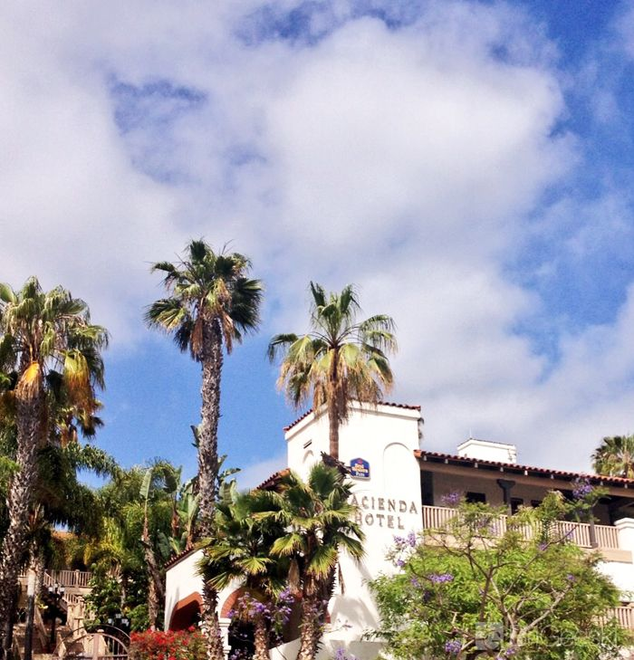 Hacienda Hotel in Old Town #SanDiego