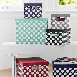 Storage Baskets Bins Canvas Pb