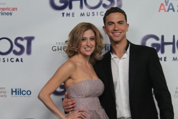 Ghost Opening Night: Caissie Levy and Richard Fleeshman