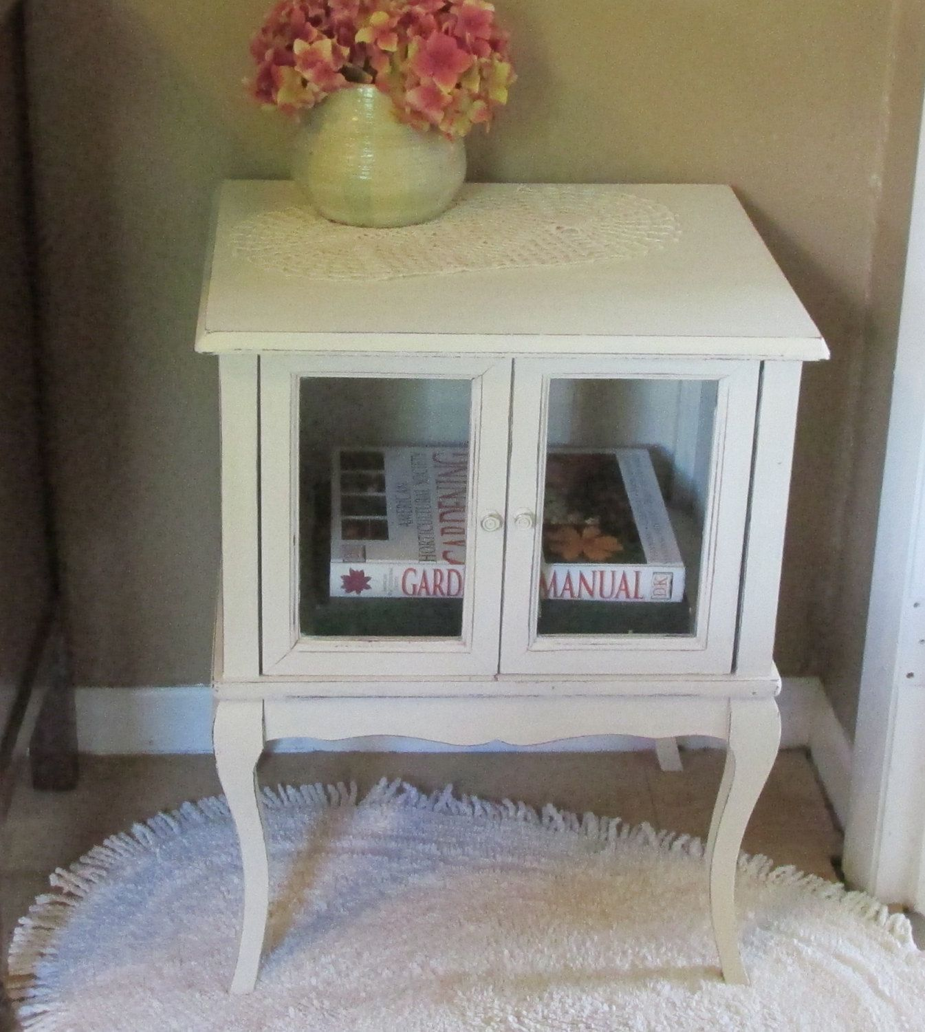 Lovey, Book Cabinet, Accent, Side, End Table, Night Stand, Distressed ·  French Country CottageCountry ... Design Ideas