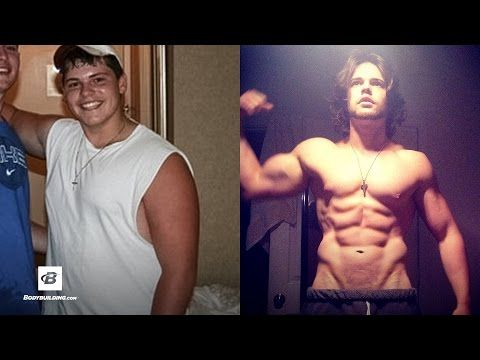 Weight Loss Before And After Men Ryan Kicked Junk Food Dropped