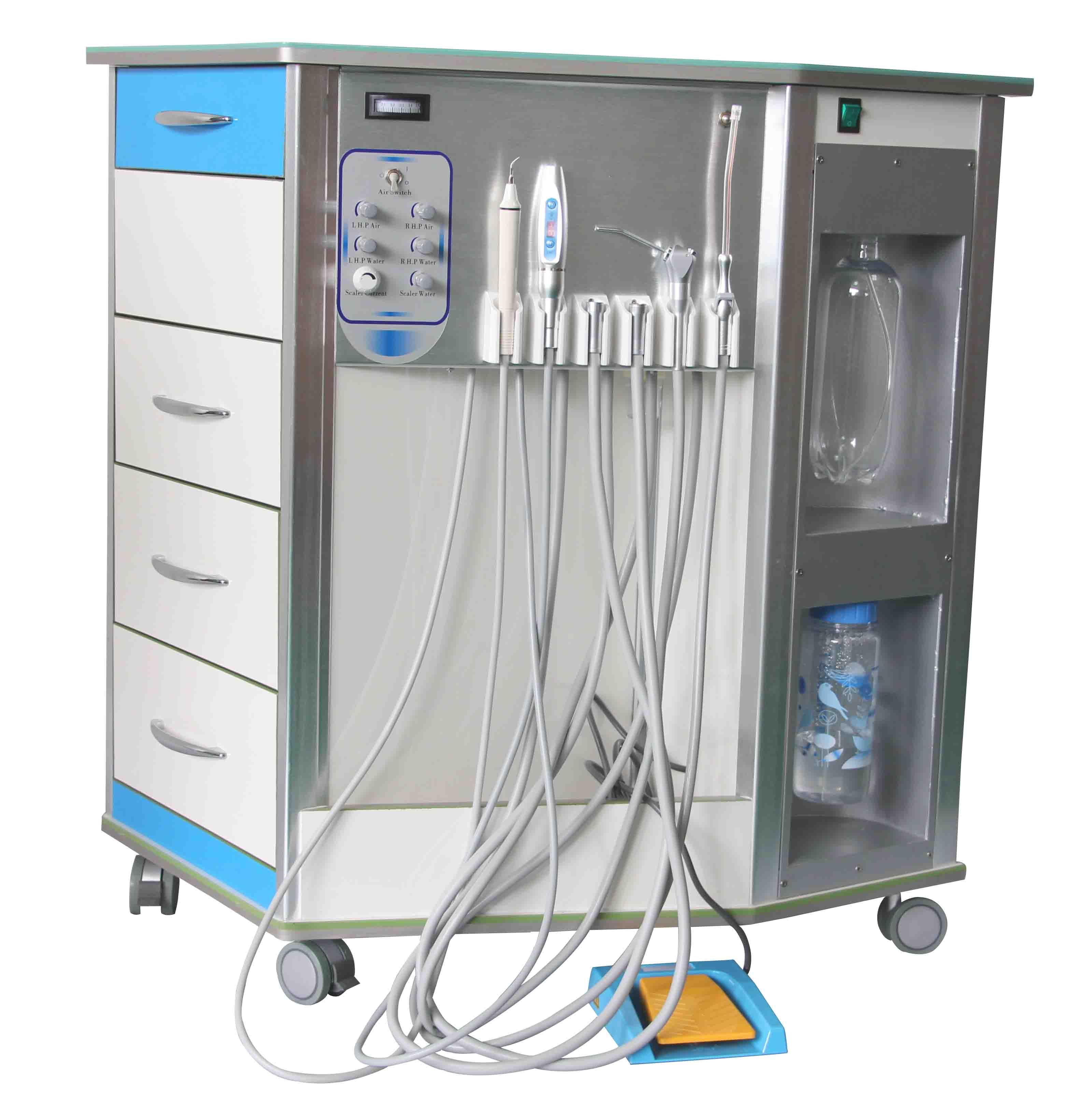 BD408 Locker storage, The unit, Dental