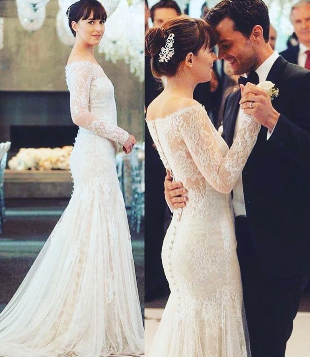 6 Likes 1 Comments Wedding Dress Weddressplus On Instagram Anyone See Fifty Shades Grey Wedding Dress Lace Mermaid Wedding Dress Mermaid Wedding Dress [ 1244 x 1080 Pixel ]