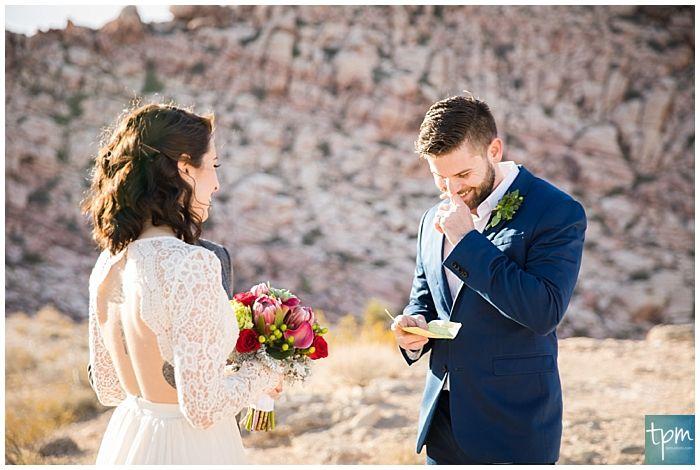 Las Vegas Elopement Packages Red Rock Canyon Wedding Las