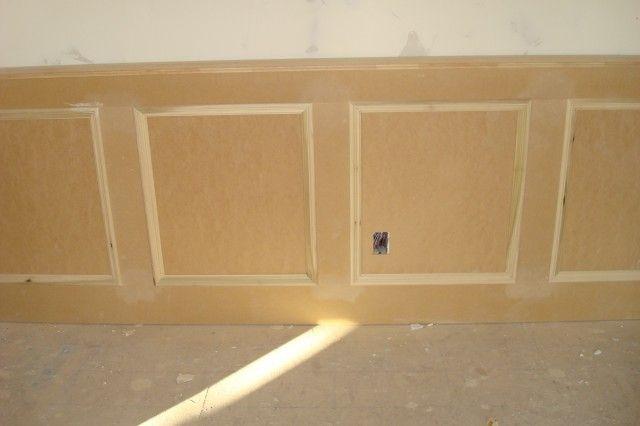 mdf wainscoting paneling for the home pinterest. Black Bedroom Furniture Sets. Home Design Ideas
