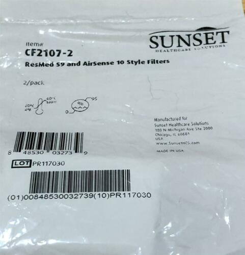 Details about ResMed Sunset CF21072 S9 CPAP Machine