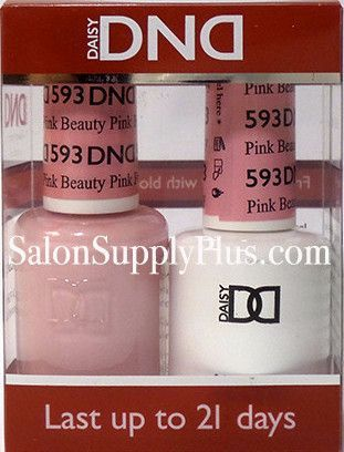 593 - DND Duo Gel - Pink Beauty- (Diva Collection)