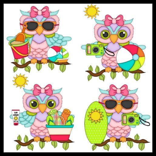 Beach Owl Girls