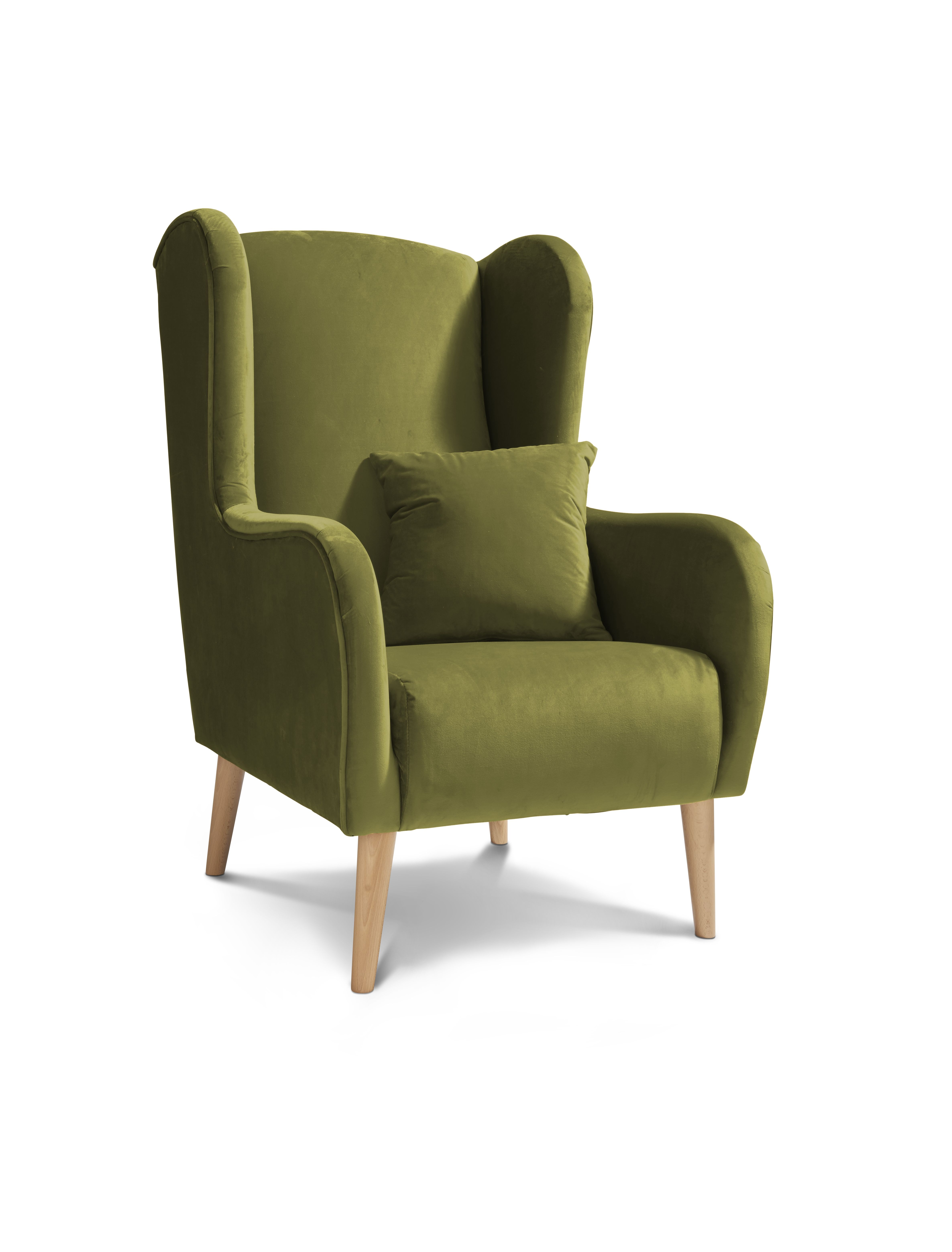 The Shelby Plush Accent Chair Is The Perfectly Plush Touch To Add A