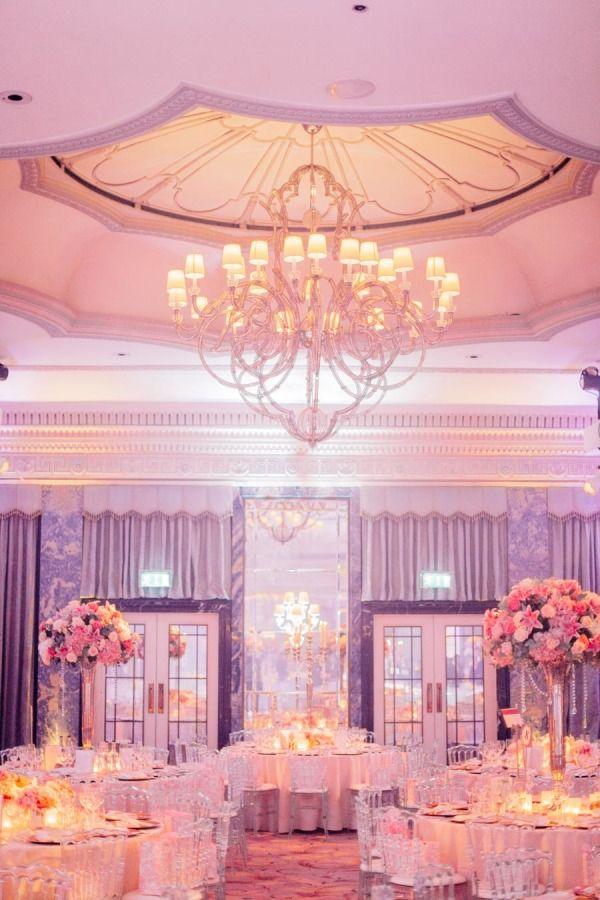 Lavish London Wedding Full Of Glamour At The Dorchester Hotel Luxury Wedding Venues London Wedding Full Wedding