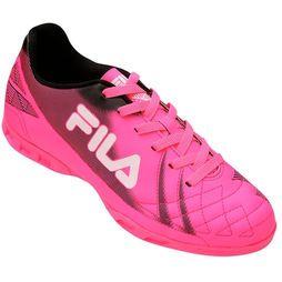 2dfce6ad00 Chuteira Fila Classic Futsal - Pink+Preto