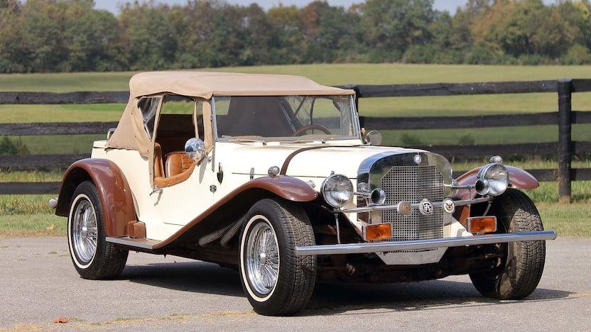1929 Cmc Gazelle Roadster Roadsters Mecum Mecum Auction