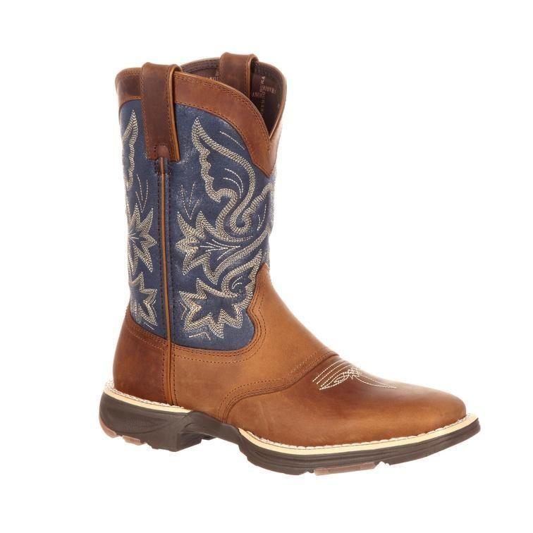 Durango Women's UltraLite Square Toe Western Saddle Boot