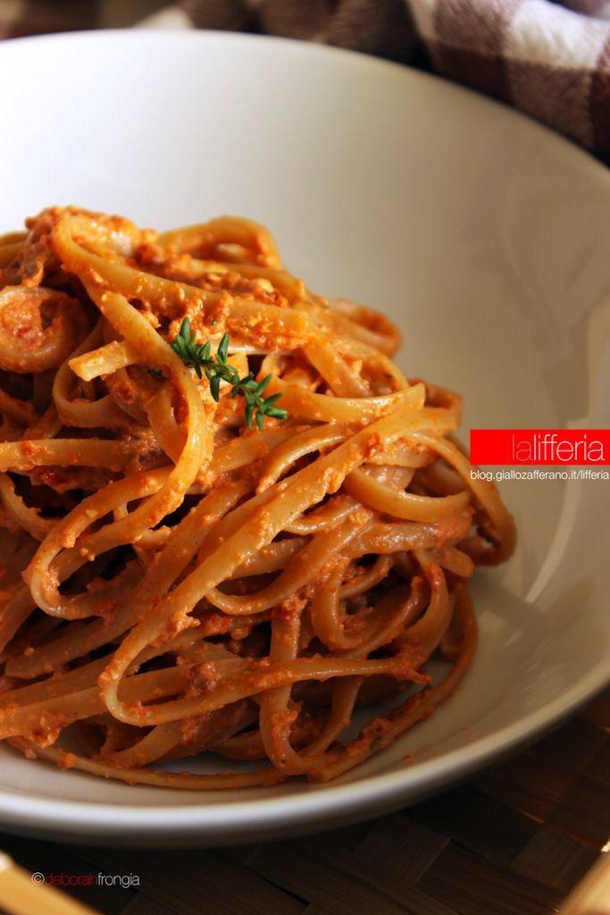 Pasta integrale con pesto di pomodori secchi e timo for Cuisine integrale