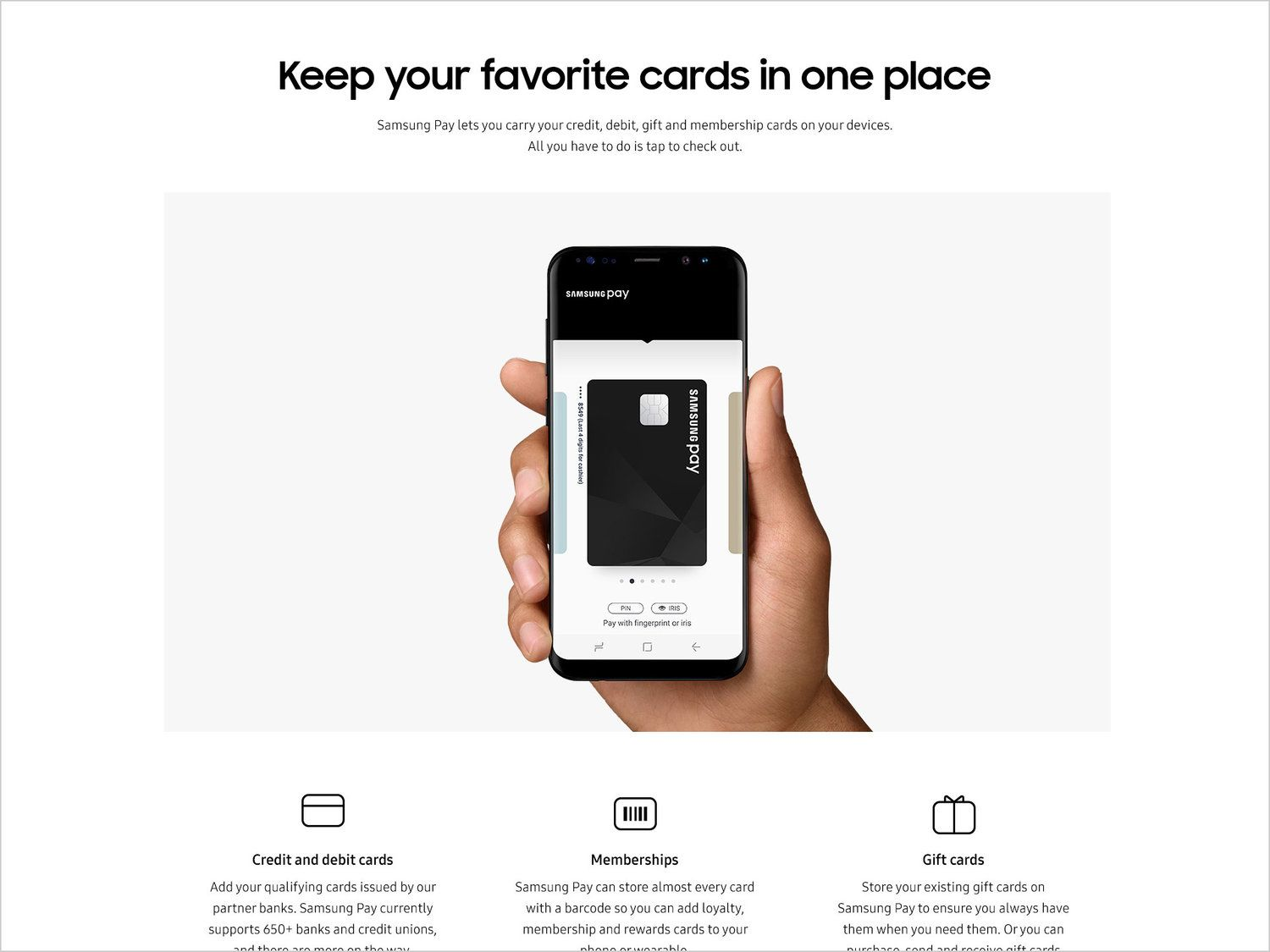 Samsung Galaxy S8 Web Pay 3 Jpg Samsung Pay Member Card Galaxy S8