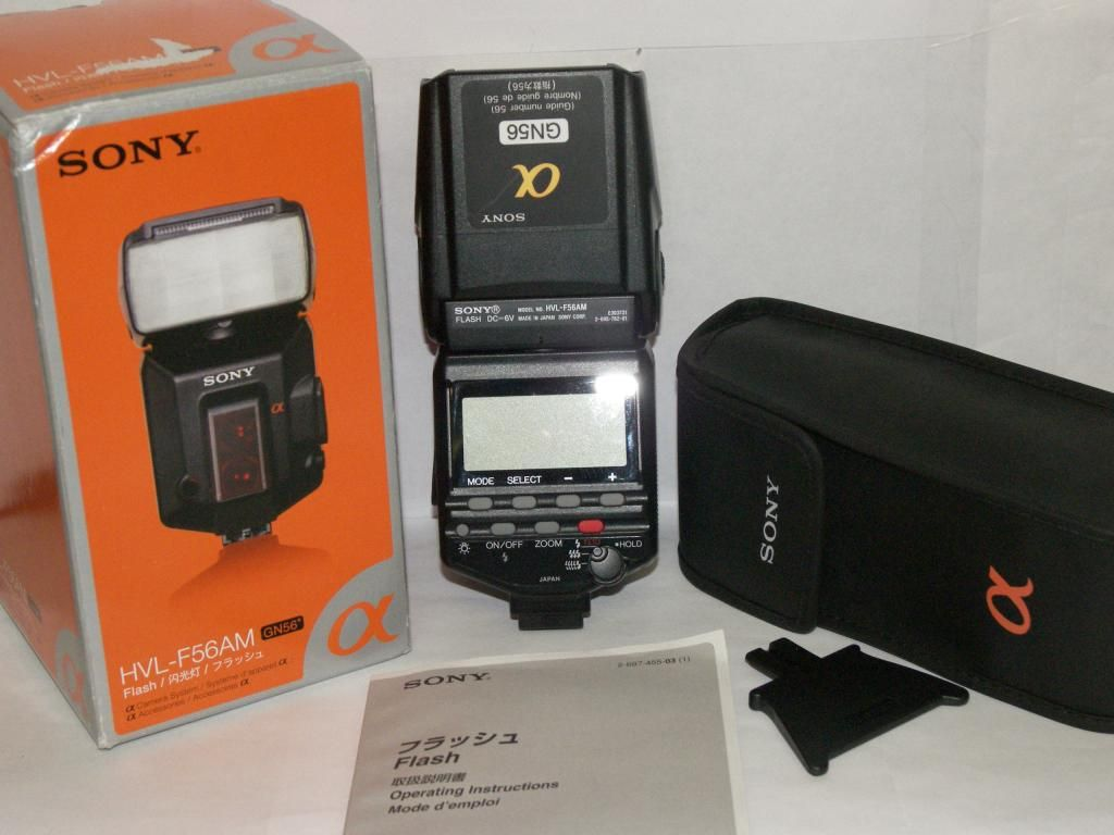 Sony HVL-F56AM Flash