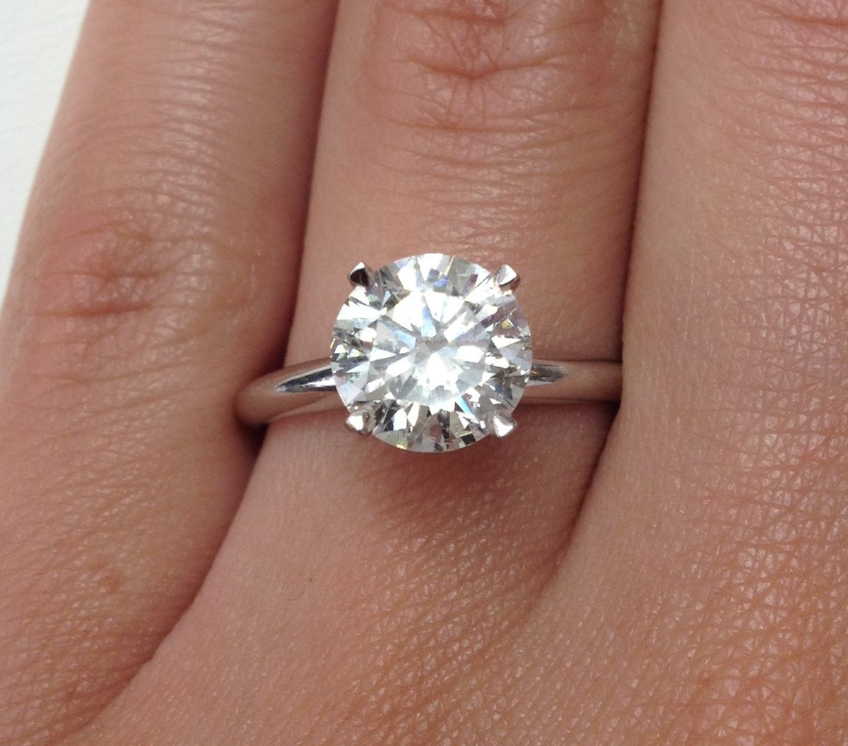 Find This Pin And More On Jewelry  Rings The Most Popular Diamond  Engagement Rings Are Round