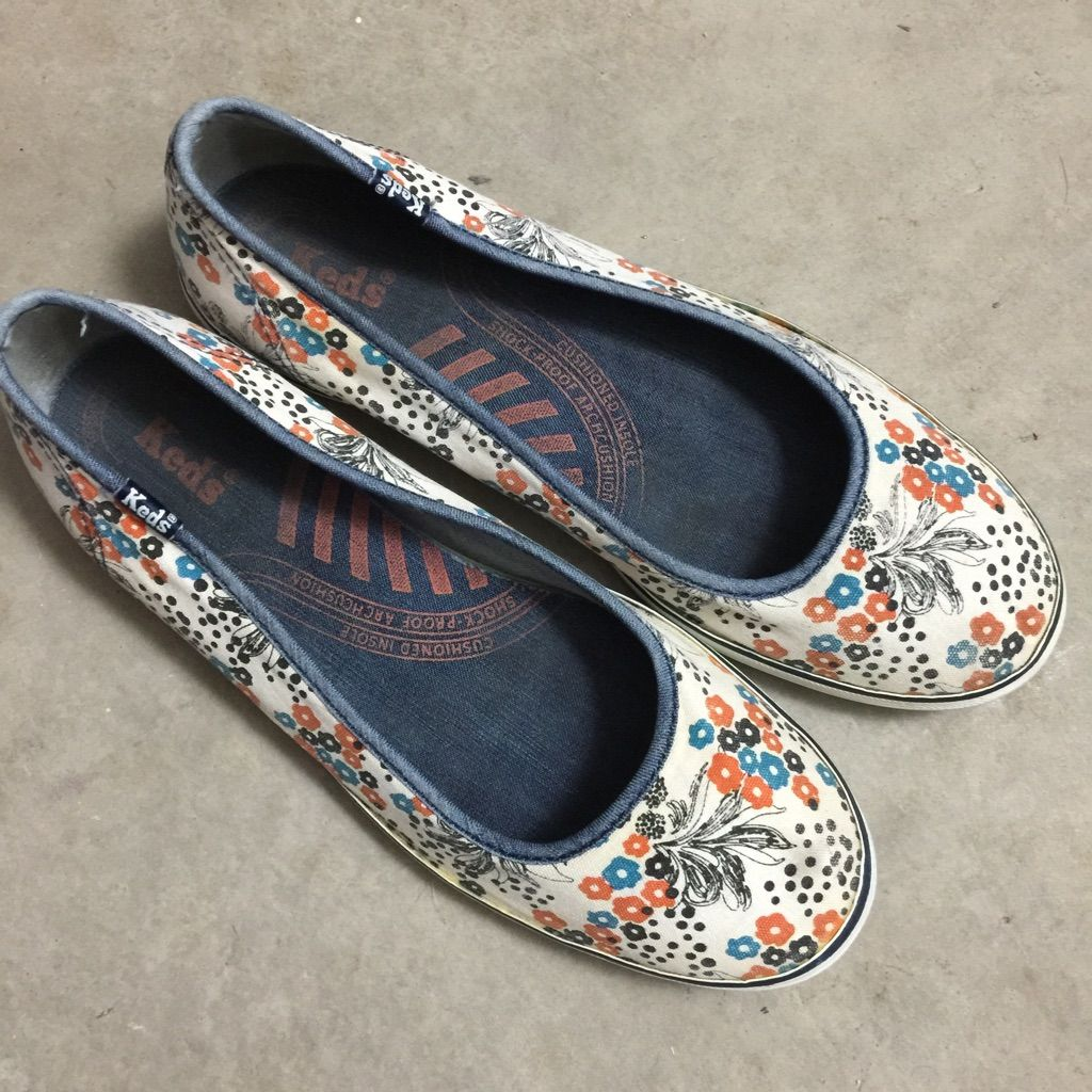 Keds Skimmers Slip- Flats Floral Products