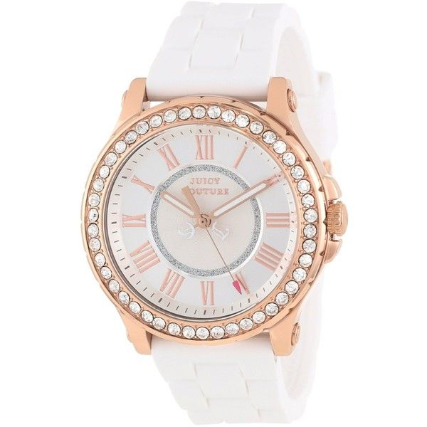Juicy Couture Pedigree CrystalAccented Rose Gold Watch 118