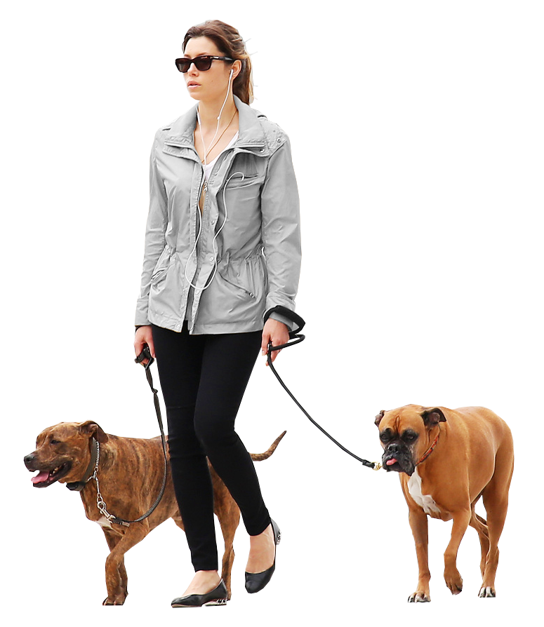 Woman Dogs Gray People Png Render People People Cutout