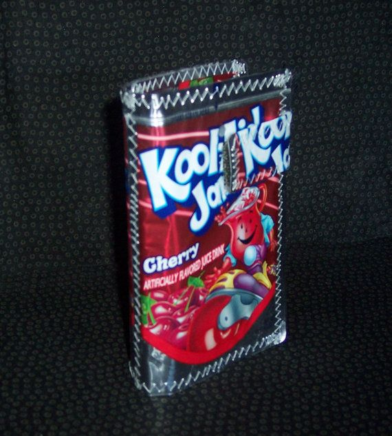 Kool Aid Jammer S Cherry Women S Wallet Kool Aid Wallets For Women Candy Wrappers