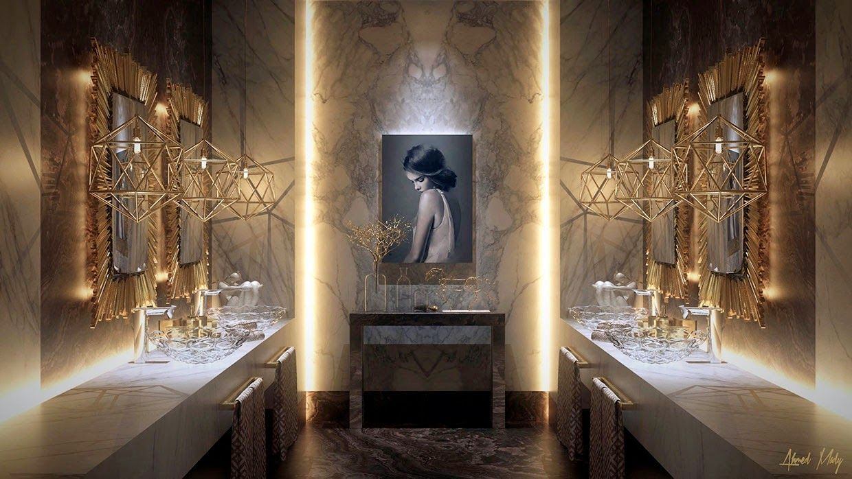 Glamorous bathroom designs for perfect relaxation | Marcel Hoffmann