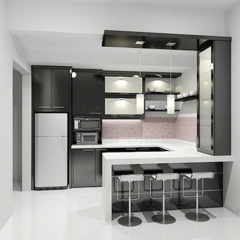 40+ Wonderful And Styles Kitchen Design Ideas #kitchendesignideas