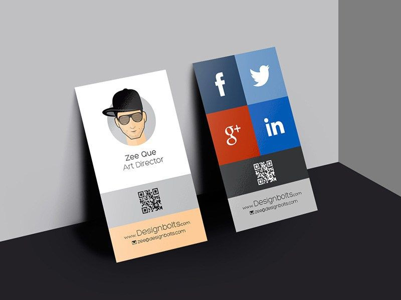 20 Free Vertical Business Card Mockup for Branding Project - http://smashfreakz.com/2016/04/free-vertical-business-card-mockup/