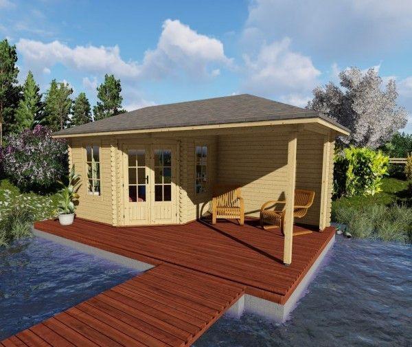 Gartenhaus mit Terrasse 5 eck Gartenhaus Gartenhaus mit