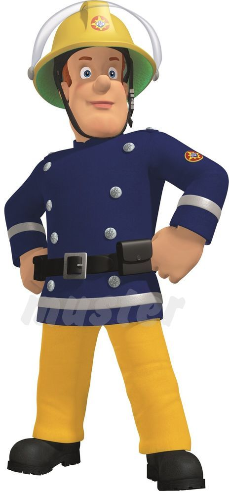 Feuerwehrmann Sam Nr 4 Bugelbild Aufbugler Z B Fur Hellet Shirts Feuerwehrmann Feuerwehrmann Sam Feuerwehr