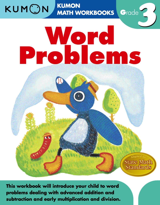 Kumon Publishing Kumon Publishing Grade 3 Word Problems Kumon Math Math Workbook Word Problems [ 1541 x 1200 Pixel ]