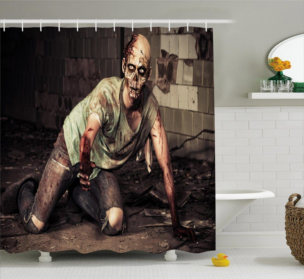 Pin On Horror Movie Shower Curtain Models By Ambesonne