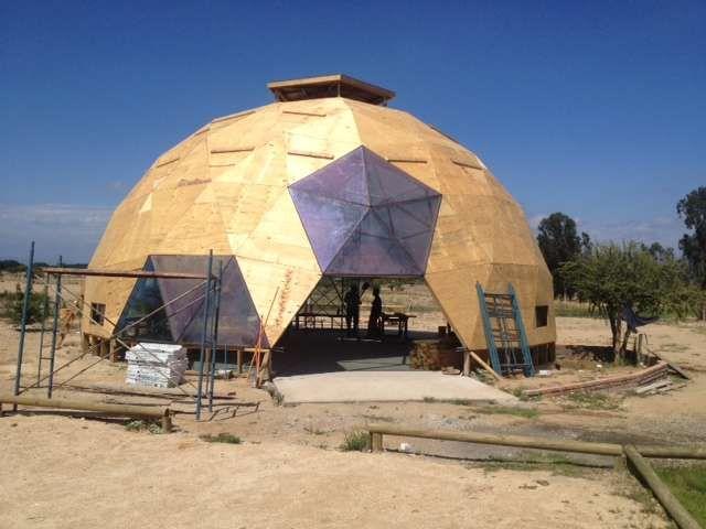 Estructura para casa domo geodesico domos geodesic - Casas geodesicas ...