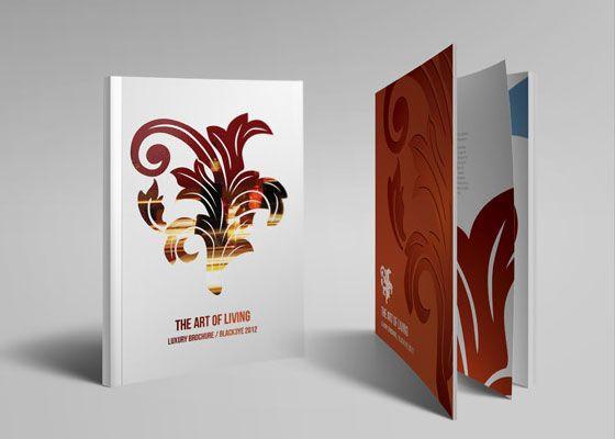 Luxury Brochure Template Web3mantra Pinterest Luxury Brochure
