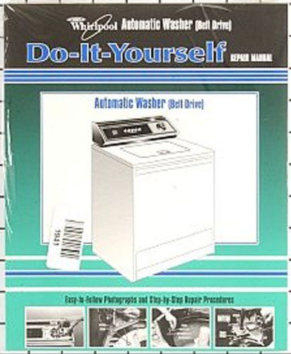 Price Tracking For Whirlpool Kenmore Sears Washing Machine Repair Manual 4313896 Easy To Follow Do It Yourself Guide Price History Chart And Drop Alerts For Washing Machine Repair Repair Kenmore Washing Machine