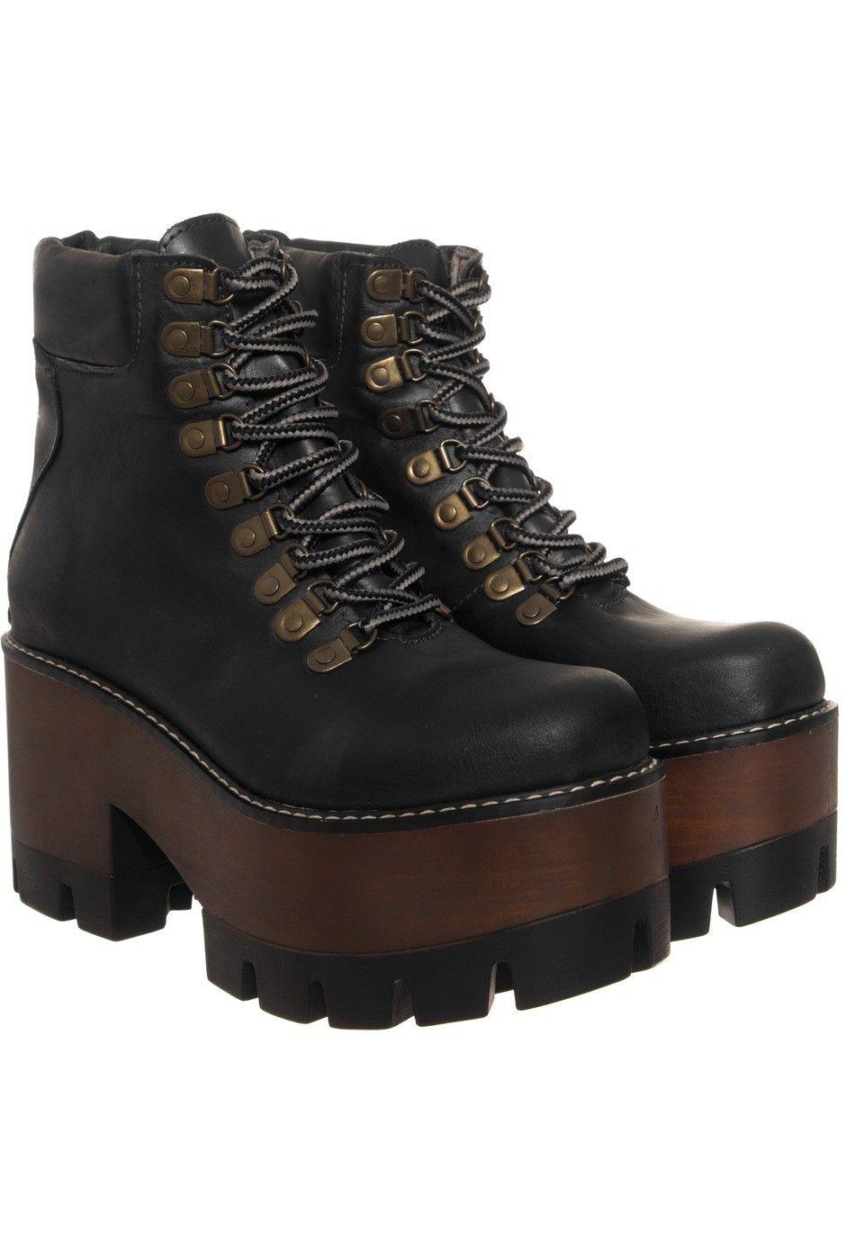 Heyas Borcegos Samir negro  Pinterest botas  Pinterest   Negro, zapatos y fd11d5