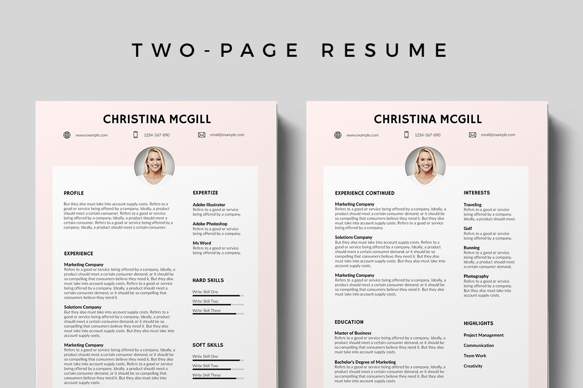 Printable Free Resume Templates 2019 in 2020 | Free ...