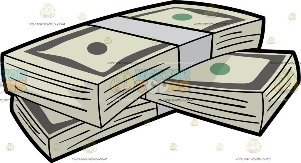 Bundles Of Us Dollar Money Bills Dollar Money Money Bill Train Sketch